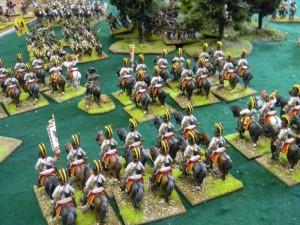 Austrian cavalry reserve